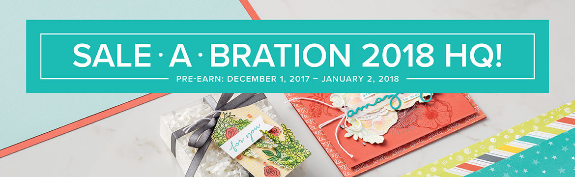 Sale-a-Bration 2018 ends Saturday, March 31. Don't miss out on your favorites! Making Memories with Michelle. Stampin' Up! 2018