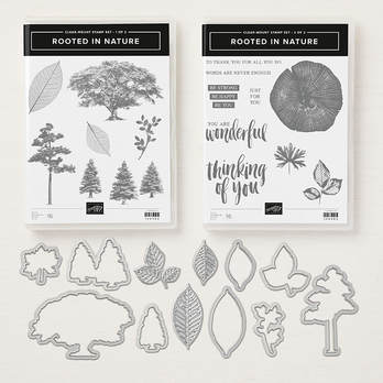 www.MakingMemorieswithMichelle Product of the week: Rooted in Nature Bundle, with 16 stamps and 12 dies. Stampin' Up! © 2018