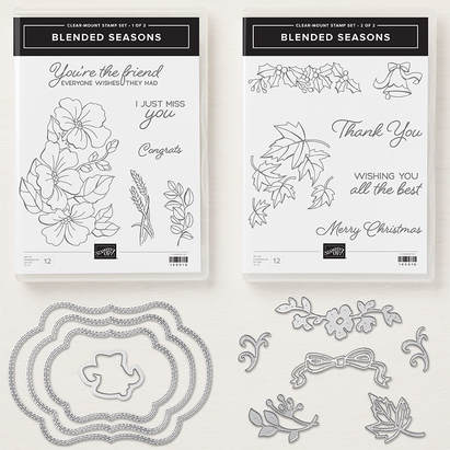 Color Your Seasons - Stamp Set and Framelits are available while supplies last through August 31. www.MakingMemorieswithMichelle.com Stampin' Up! © 2018