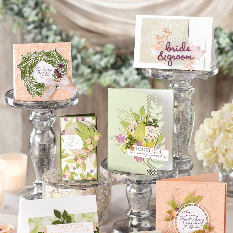 www.MakingMemorieswithMichelle.com February's Card cub will feature the Wonderful Romance Suite. In Person and To Go Options Available. Register by 2/15.