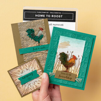 www.MakingMemorieswithMichelle.com Home to Roost Card Kit