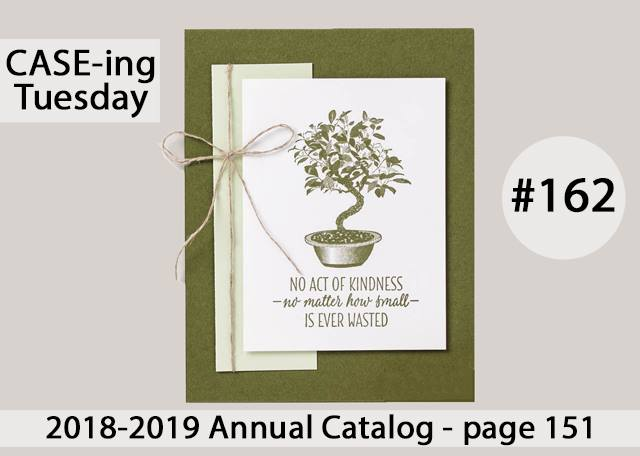 www.MakingMemorieswithMichelle. All the Good Things Stamp Set. #CASEingTuesday162 Stampin' Up © 2018Picture
