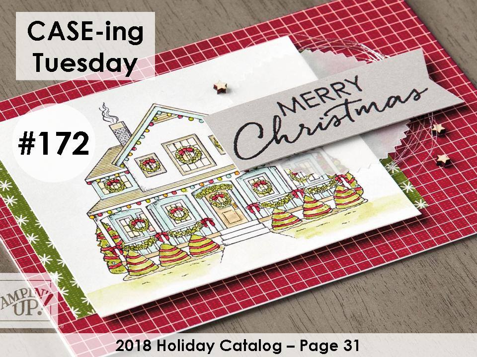 www.MakingMemorieswithMichelle.com #CASEingTuesday172 Images © 2018 Stampin' Up!®
