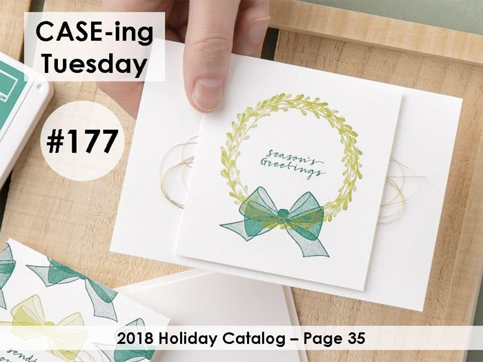 www.MakingMemorieswithMichelle.com Wishing You Well. #CaseingTuesday177 #SimpleStamping