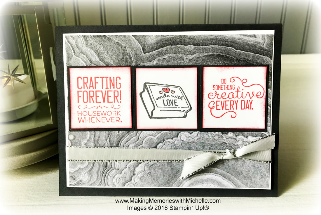 www.makingmemorieswithmichelle.com #CaseingTuesday180 Crafting Forever and New Year's Resolutions.