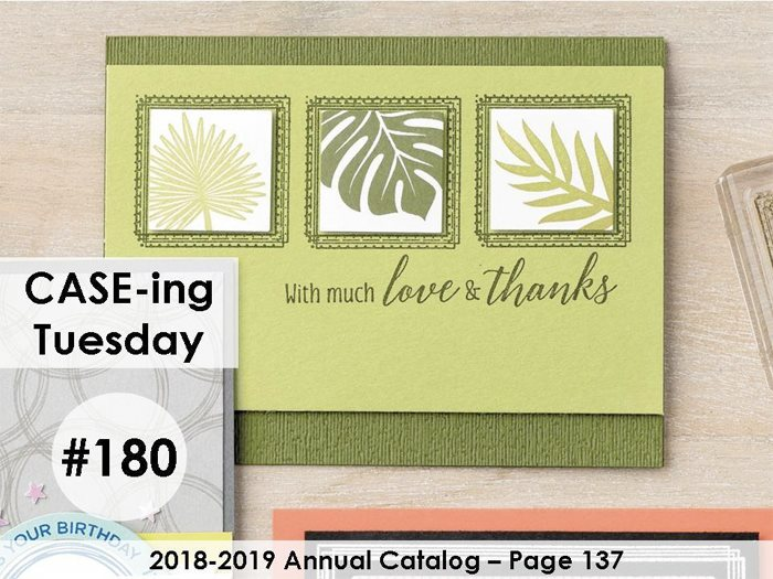 www.makingmemorieswithmichelle.com #CaseingTuesday180