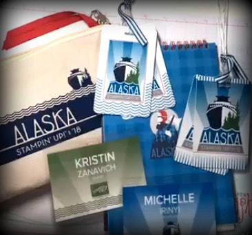 I stamped my way to Alaska! #12monthstampinggoals #StampinUpIncentiveTrip www.MakingMemorieswithMichelle.com