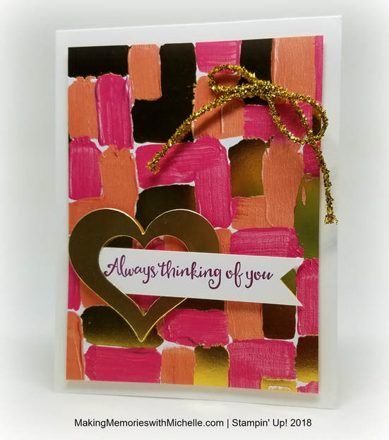 Painted with Love Card