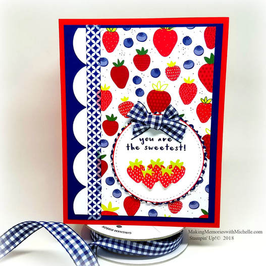Berrylicious Tutti Frutti Paper and the Fruit Basket Bundle. What's not to love?