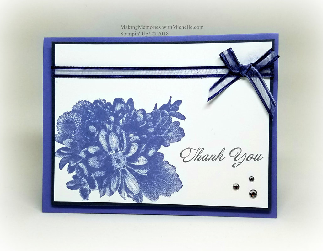 The Heartfelt Blooms Stamp Set is Free with a $50 purchase, until March 31.