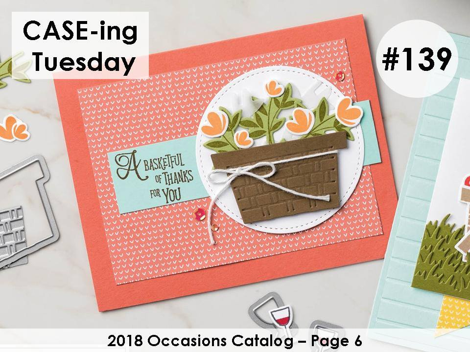 CASE-ing Tuesday #139.  Making Memories with Michelle.  Stampin' Up! © 2018