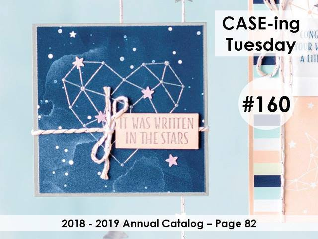 Come play along with the Case-ing Tuesday group! www.makingmemorieswithmichelle.com Stampin' Up! © 2018