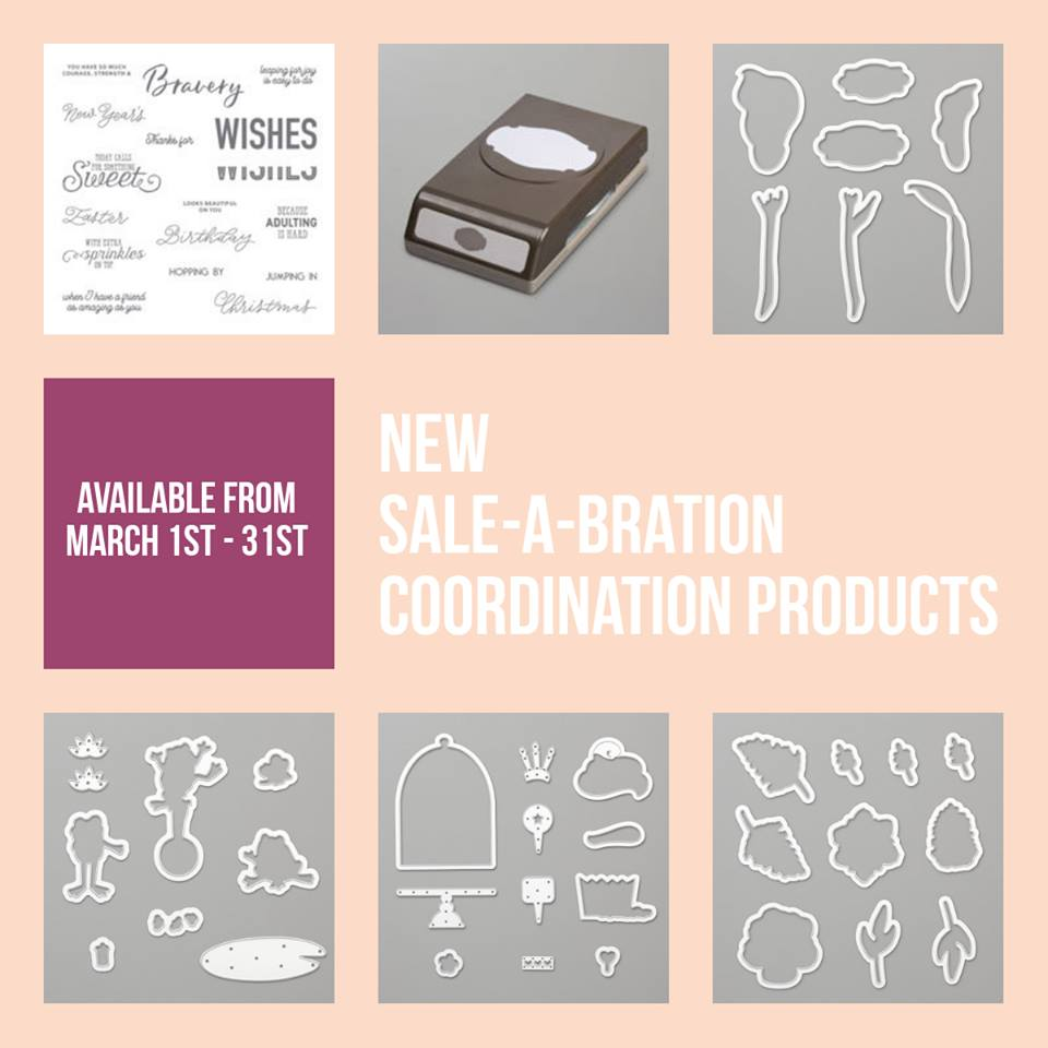 www.MakingMemorieswithMichelle.com Sale-a-Bration Coordination 3/1-3/31/19