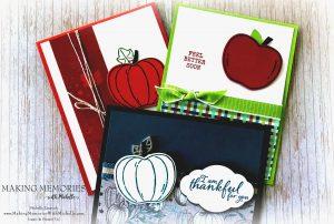 Harvest Hello Card Class