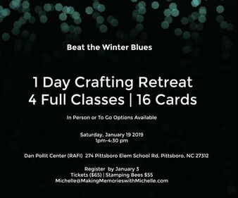 www.MakingMemorieswithMichelle.com 1-day Mini Retreat. In person or