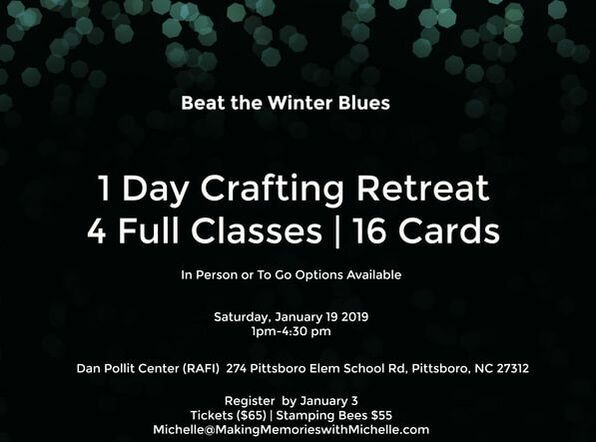 2 spots remain! 1-day Mini Retreat. In person or
