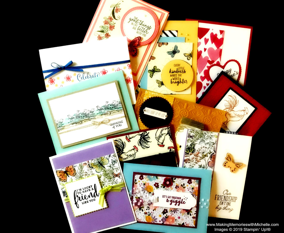 www.MakingMemorieswithMichelle.com Stamping Bee Team Swaps