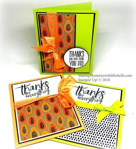 Tutti Frutti Designer Series Paper. 6
