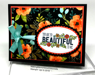 The Whole Lot of Lovely is retiring...and almost gone! Making Memories with Michelle. Stampin' Up! © 2018