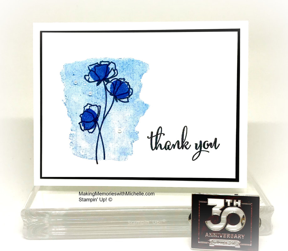Share What You Love and the new 2018-2020 In Colors. Making Memories with Michelle. Stampin' Up! © 2018