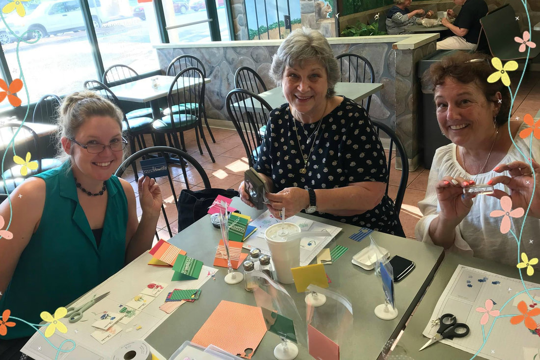 Wish you were here! Stamping Bee June Team Meeting. www.MakingMemorieswithMichelle.com Stampin' Up! © 2018