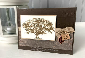 www.MakingMemorieswithMichelle.com Rooted in Nature bundle. Stampin' Up! © 2018