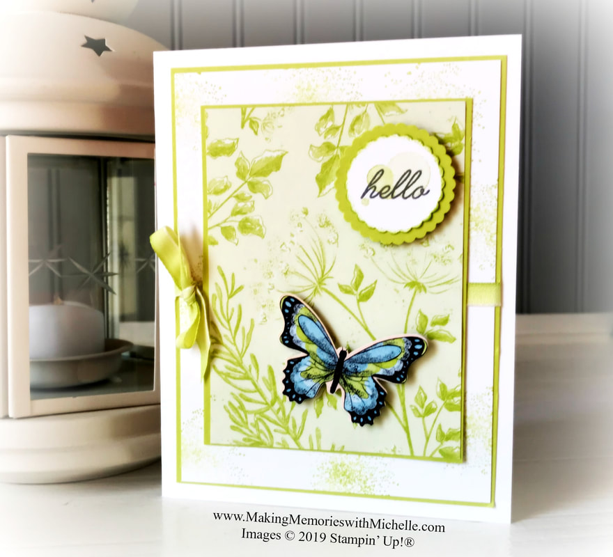 www.MakingMemorieswithMichelle.com Botanical Butterflies and Beauty Abounds.