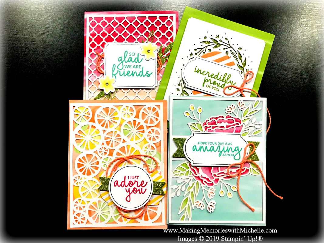 www.MakingMemorieswithMichelle.com  Incredible Like You Project Kit from the Occasions Catalog.