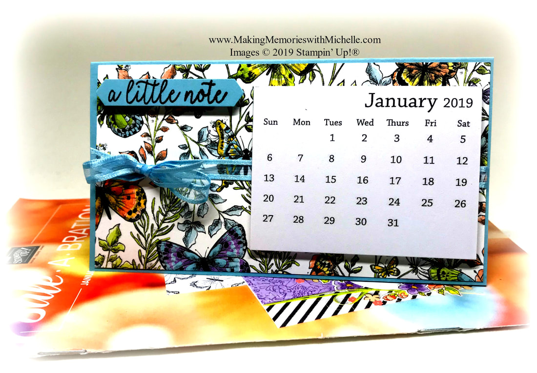 www.MakingMemorieswithMichelle.com  It's time for a Sale-a-Bration with Butterfly Botanicals Designer Series Paper - FREE with $50 purchase.