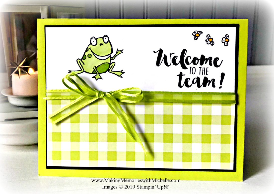 www.MakingMemorieswithMichelle.com So Hoppy Together - Free with $50 purchase during Sale-a-Bration 2019. www.MichelleIrinyi.StampinUp.net