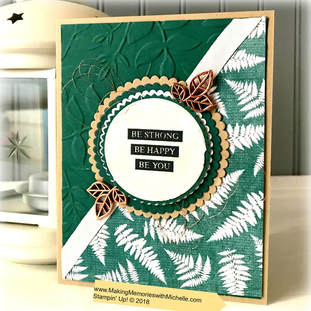Rooted in Nature and Nature's Poem. www.MakingMemorieswithMichelle.com Stampin' Up! © 2018