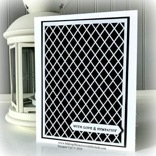 Sweet & Simple with Delightfully Detailed Laser Cut Specialty Paper. www.MakingMemorieswithMichelle.com