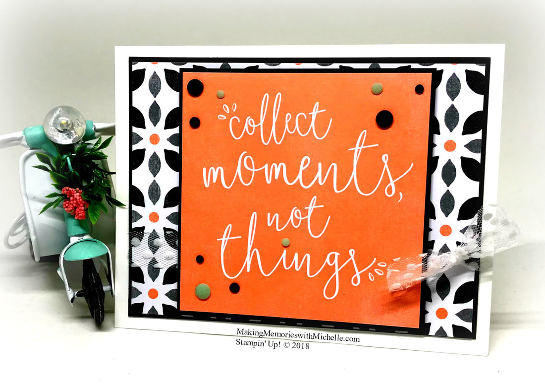 CASE-ing Tuesday 148. Delightfully Detailed. Making Memories with Michelle. Stampin' Up! © 2018