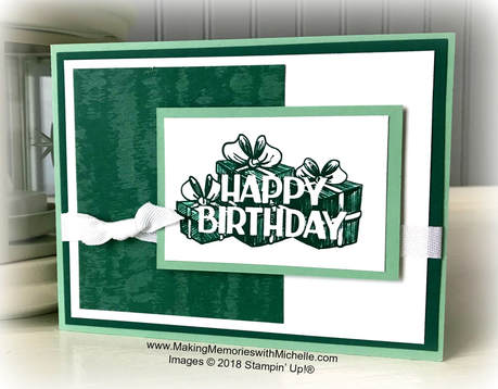 www.MakingMemorieswithMichelle.com Celebrate my birthday week!  Simply place an order at my store and use host code PUQY4XD3 before you check out.  Your Petal Pink Rhinestone Gems will ship to you later in November, along with a very special handmade thank you card from me. ​  Images © 2018 Stampin' Up!®