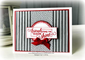 www.MakingMemorieswithMichelle.com  Making Christmas Bright.  Stampin' Up! © 2018