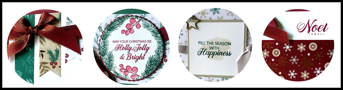 www.MakingMemorieswithMichelle.com The September Christmas Card Club includes 12 cards, 3 each of 4 designs + 2 full embellishments Chose two times on 9/20, or get your class delivered right to your door. Registration is due 9/1. Stampin' Up! © 2018