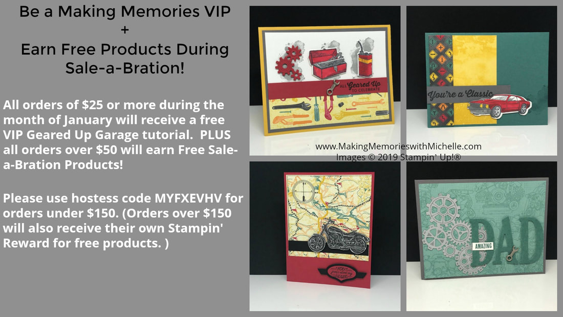 www.MakingMemorieswithMichelle.com January VIP Tutorial