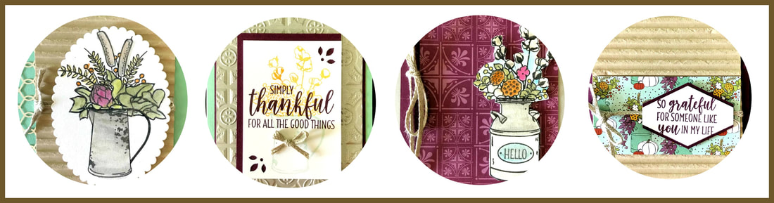 Can't make the Fall Stamping in the Mountains Retreat? Don't worry! I've got you covered. Come let me surprise, delight, and spoil you! This special edition retreat-in-a-box is perfect for fall crafting. We're showcasing fall, Thanksgiving, and Christmas projects created just for you. Click on the image for more information. Stampin' Up! © 2018
