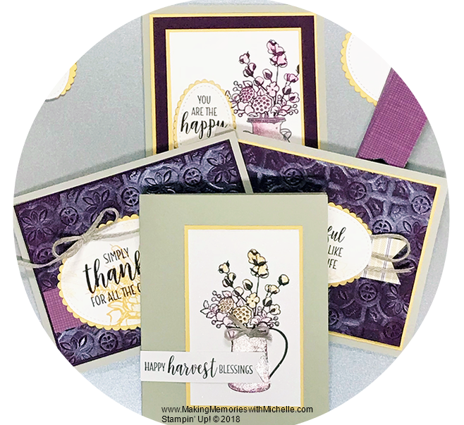 www.MakingMemorieswithMichelle.com  Country Lane Suite  Stampin' Up! © 2018