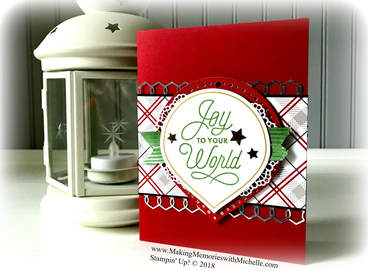 www.MakingMemorieswithMichelle.com  The Sincerely Santa Project Kit...it's not just for Gift Tags!  Stampin' Up! © 2018
