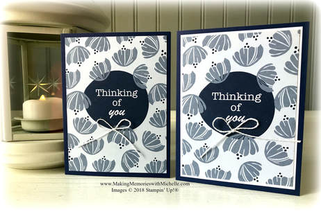 www.MakingMemorieswithMichelle.com Happiness Blooms Memories & More Card Pack and matching Card Bases & Envelopes
