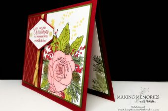 Making Memories with Michelle Stampin' Up! Christmastime is Here