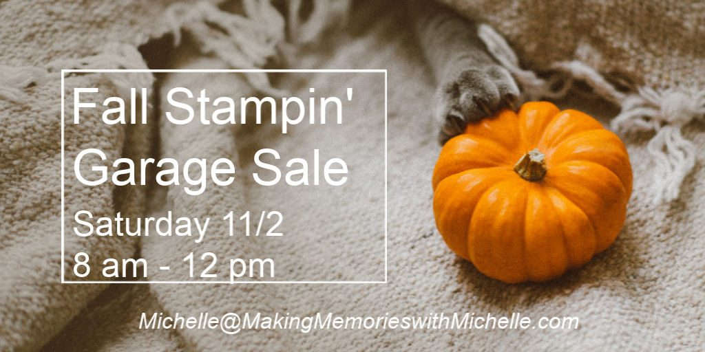 Making Memories with Michelle Stamp Sale