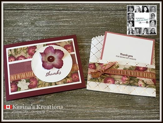 Stampin' Up! Pressed Petals
