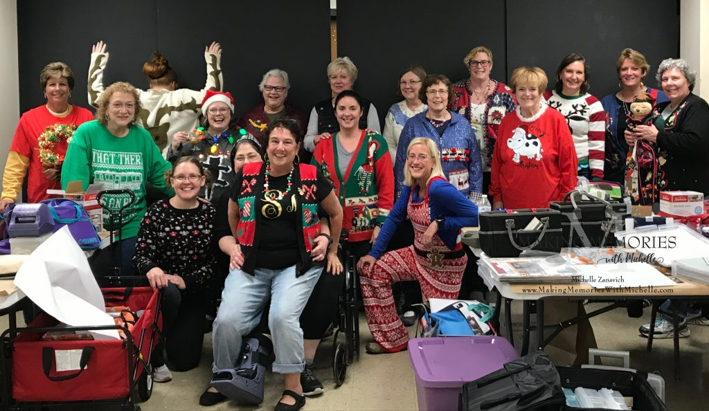 Holiday Stamping Retreat 2019