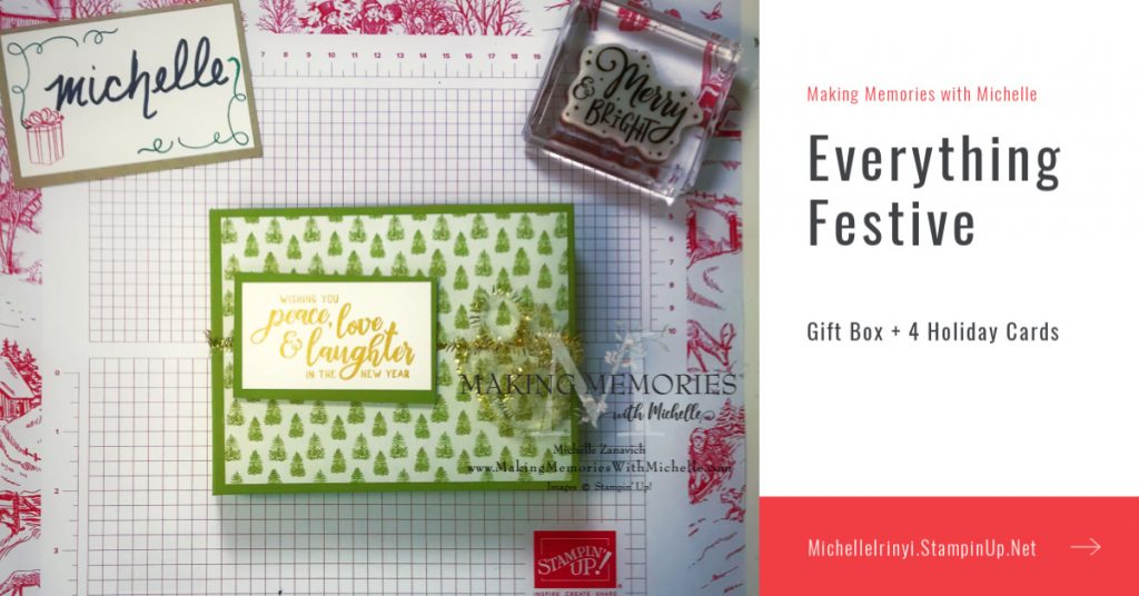 Making Memories with Michelle Crafty Saturday Everything Festive Video