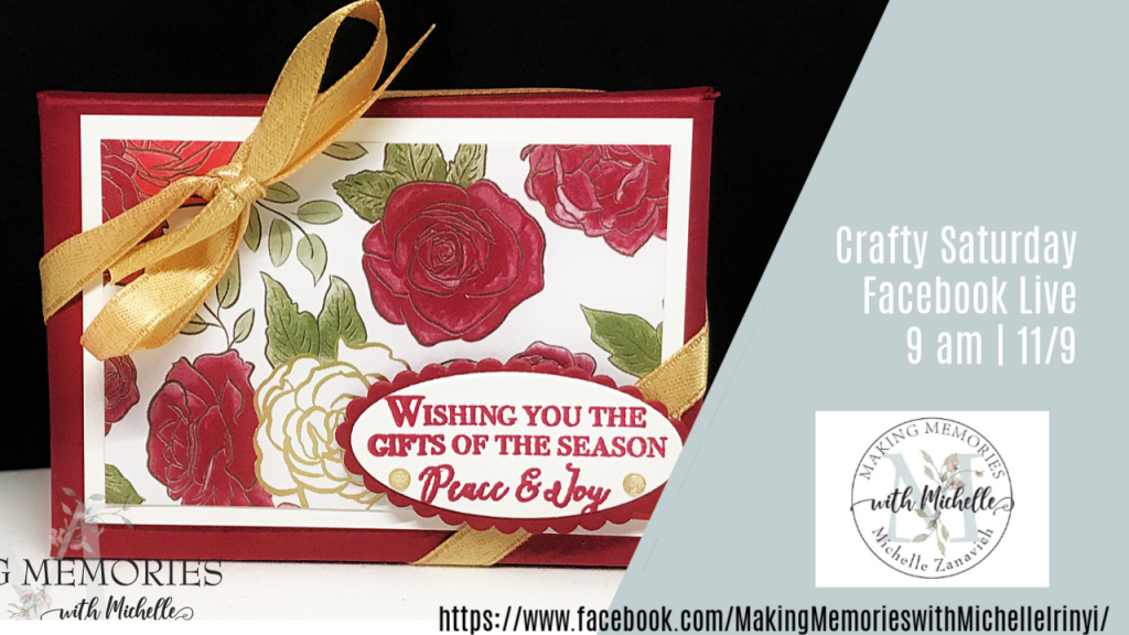 Making Memories with Michelle Christmas Time Is Here Gift Card Holder