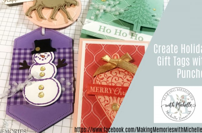 Making Memories with Michelle Holiday Gift Tags