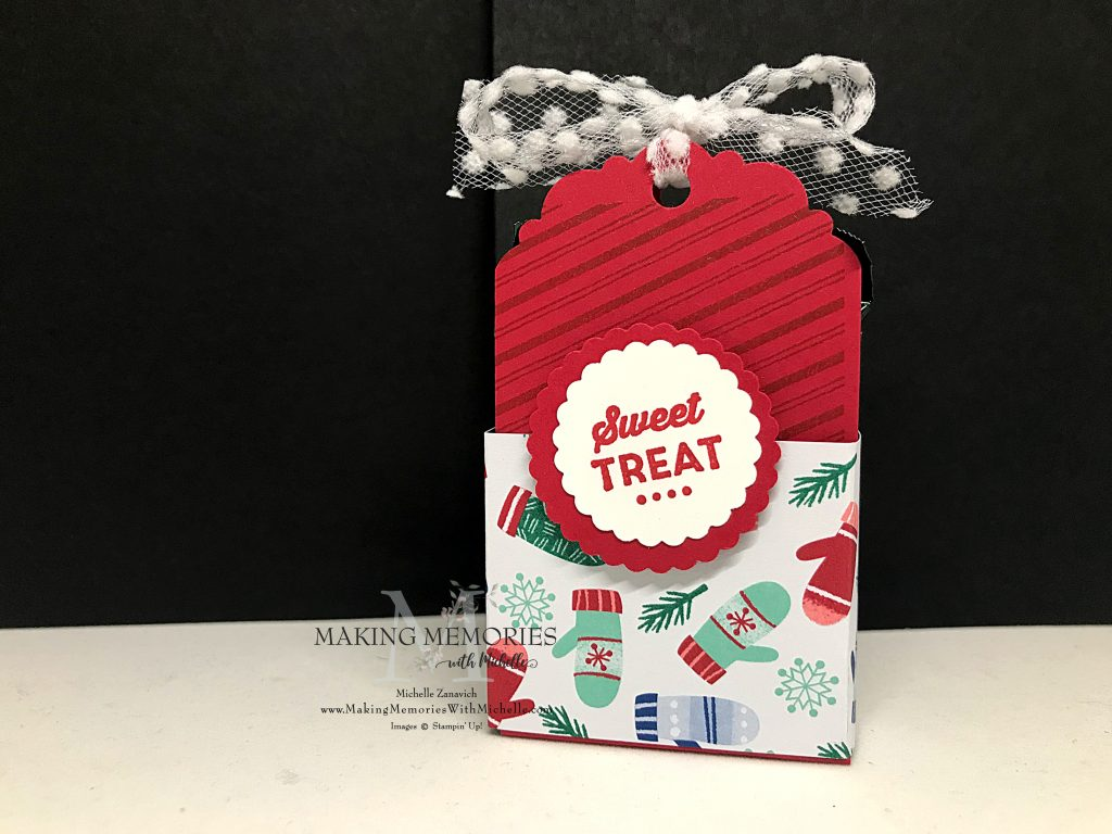 Making Memories with Michelle Double Ghirardelli Treat Holder Box