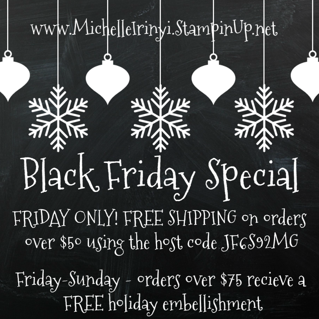 Making Memories with Michelle Black Friday Special